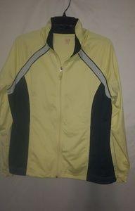 Yellow Black Warm-Up Jacket Sz